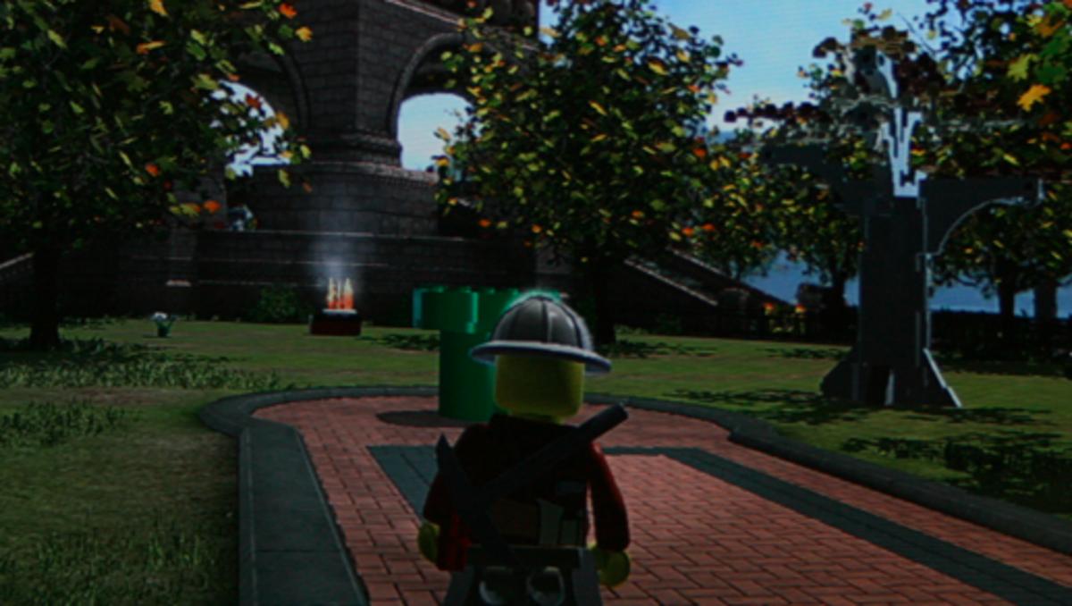 """LEGO City Undercover"" Walkthrough: Lady Liberty Island Collectibles"