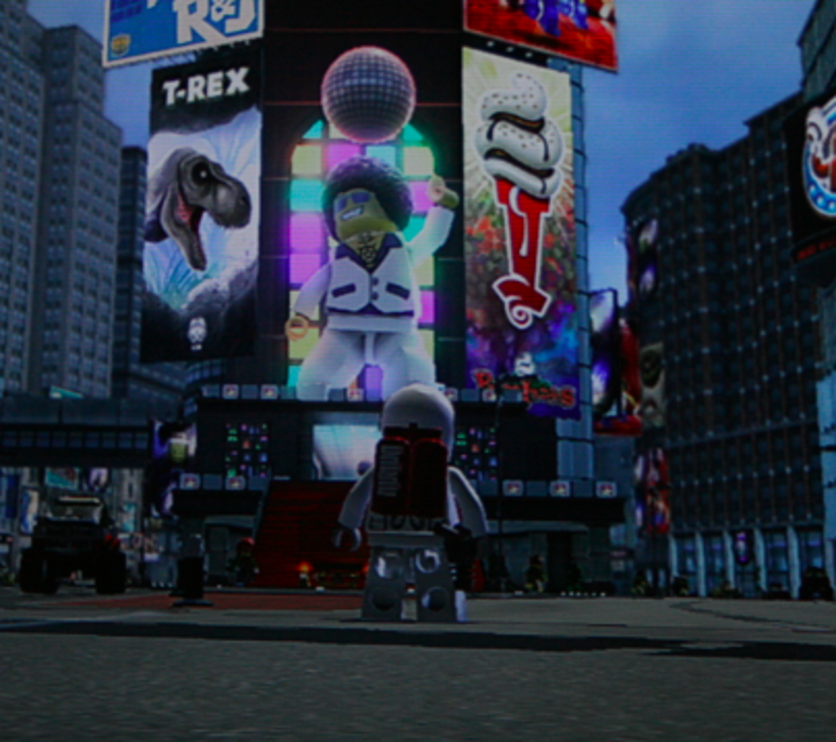 LEGO City Undercover Walkthrough: Bright Lights Plaza Collectibles