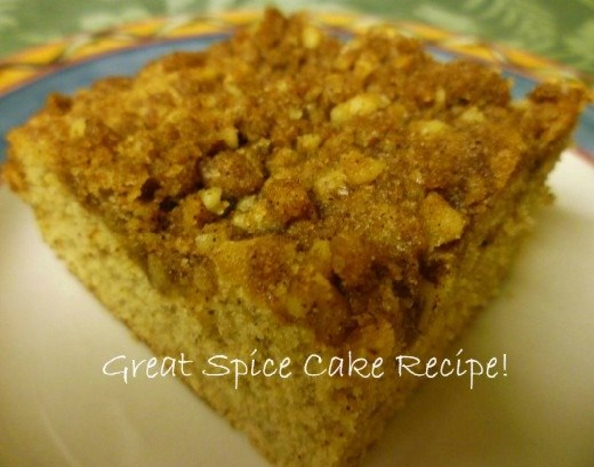 Growing up, my brother John always chose this spice cake as his birthday dessert.