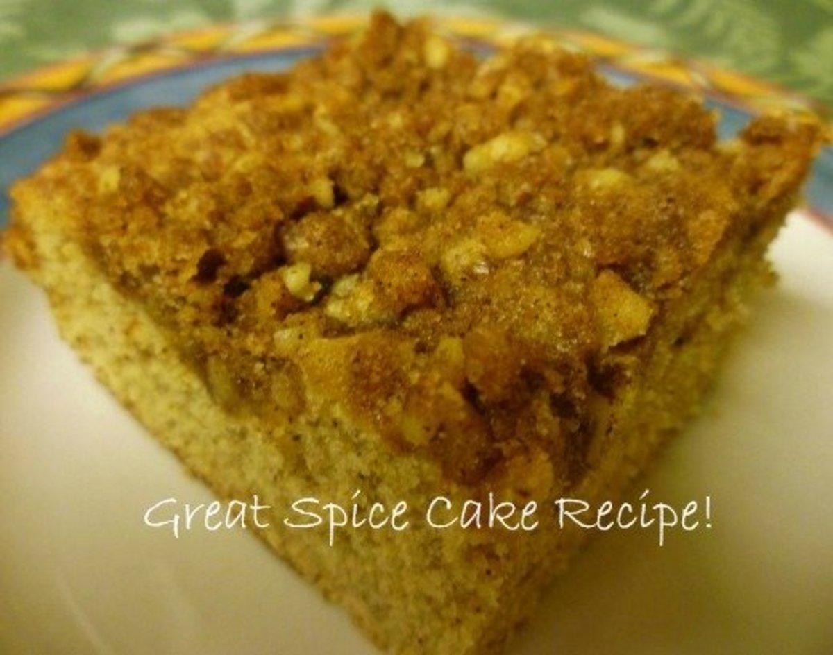 Delicious Spice Cake Recipe