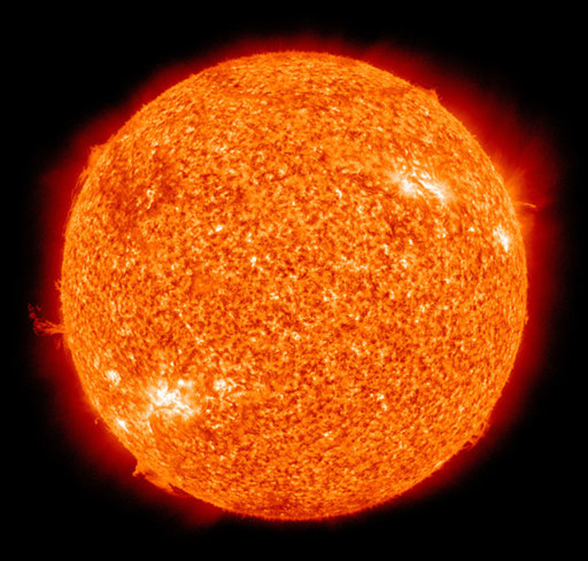 The physical characteristics of stars are usually quoted relative to our Sun (pictured).