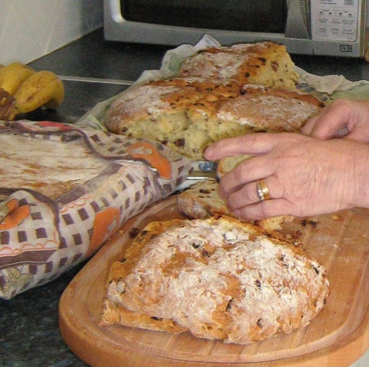 Irish Sultana Soda Bread