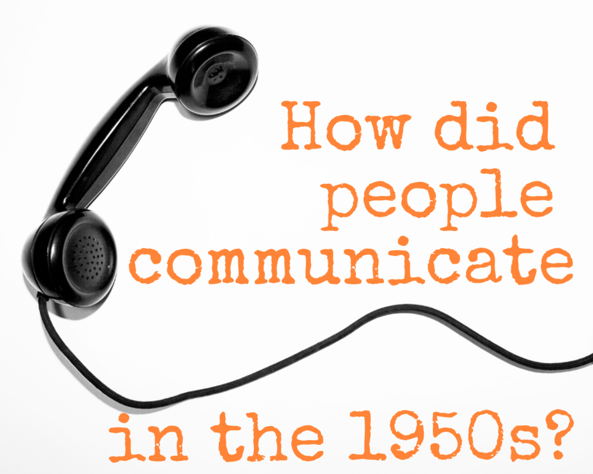 Communication Devices in the 1950s: How Did People Communicate Before Cell Phones?