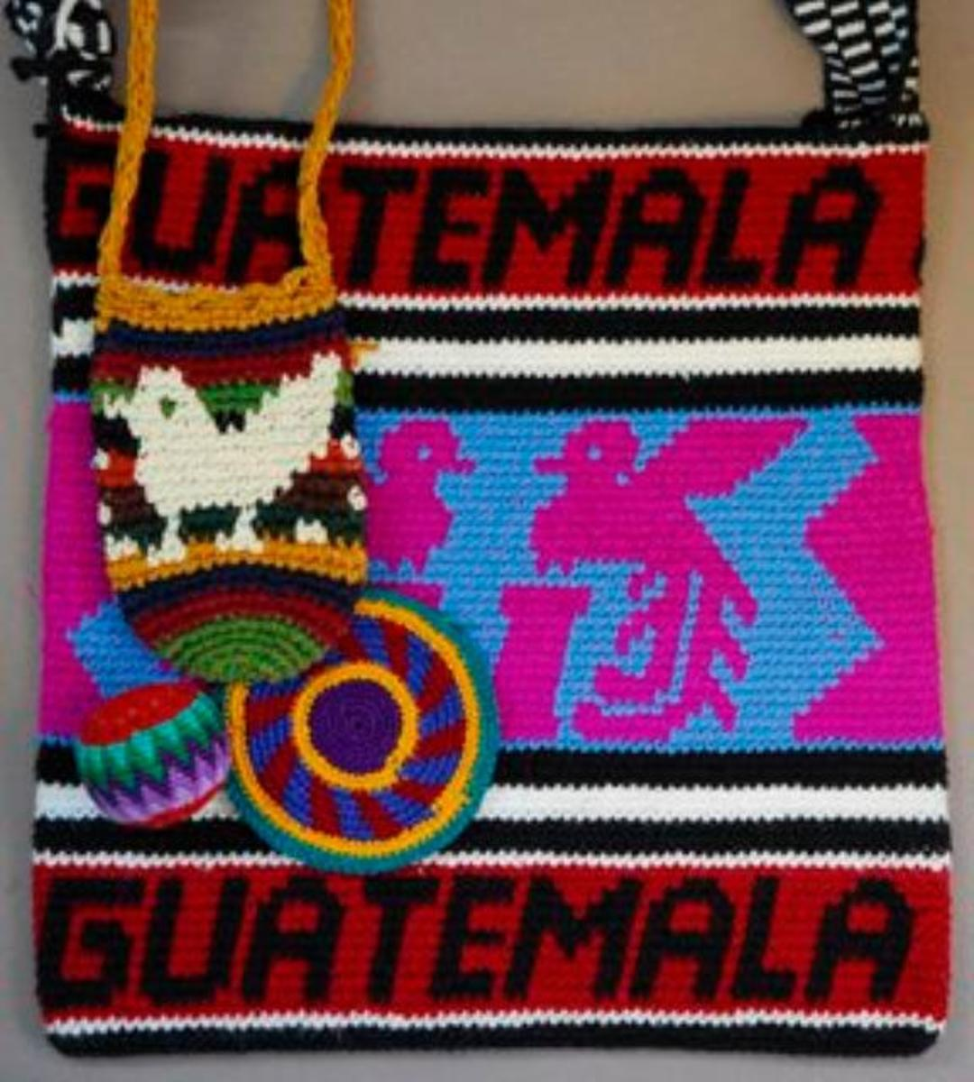 This a piece that was crocheted in Guatemala to sell to tourist. I wouldn't be able to part with it.