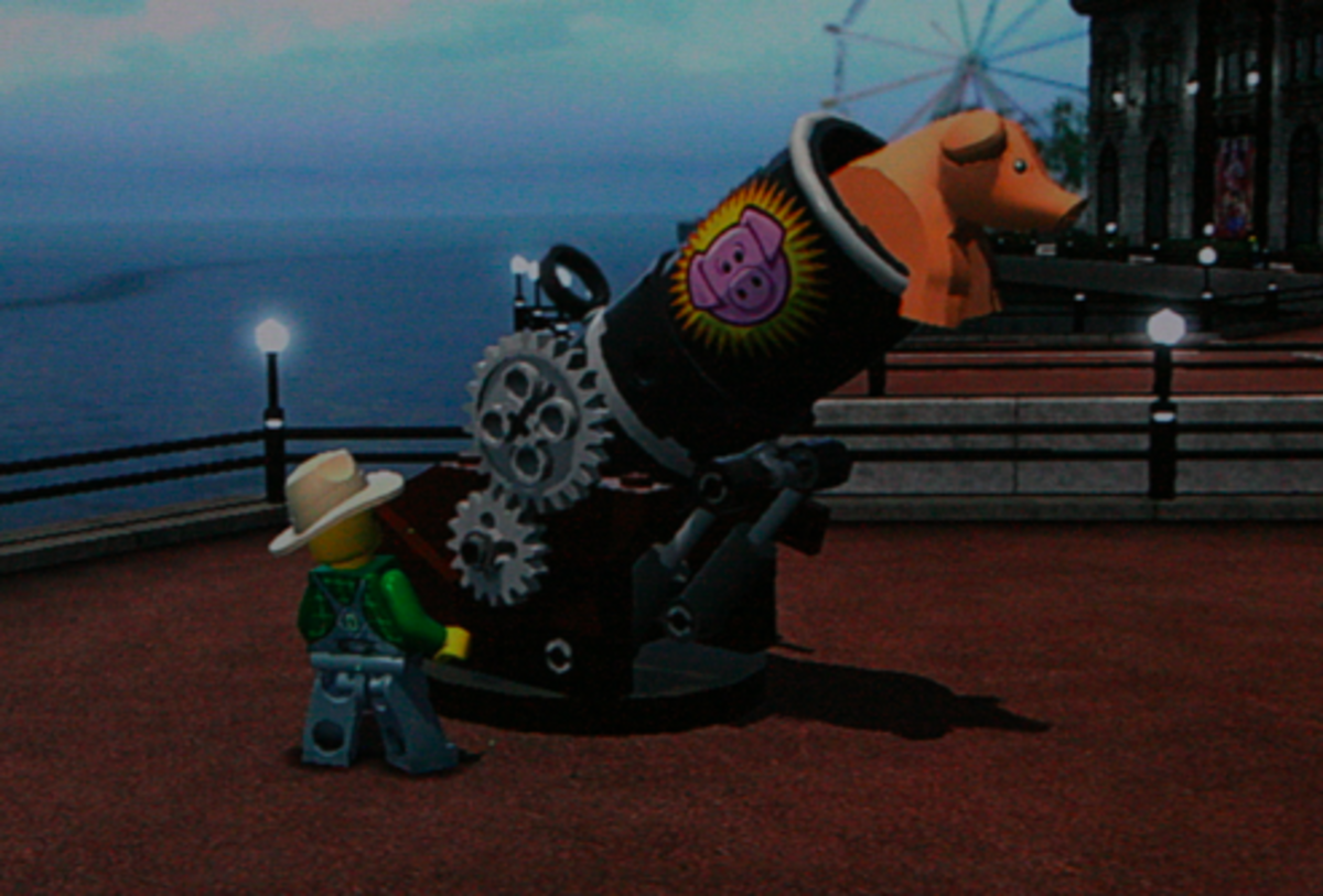 LEGO City Undercover walkthrough: Pig Locations