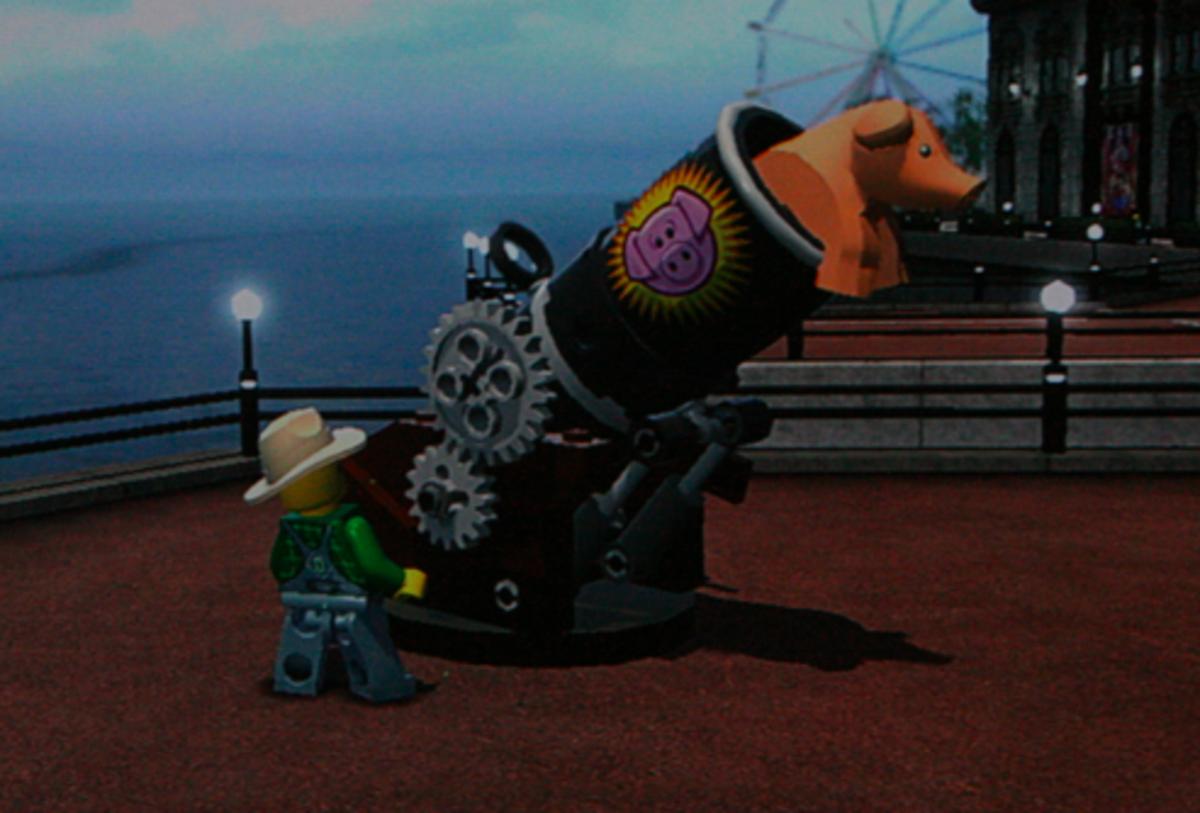 LEGO City Undercover Walkthrough: Pig Locations