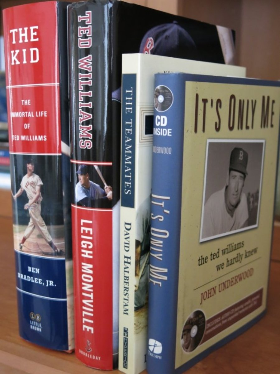 Many wonderful books have been written over the years about baseball legend Ted Williams.