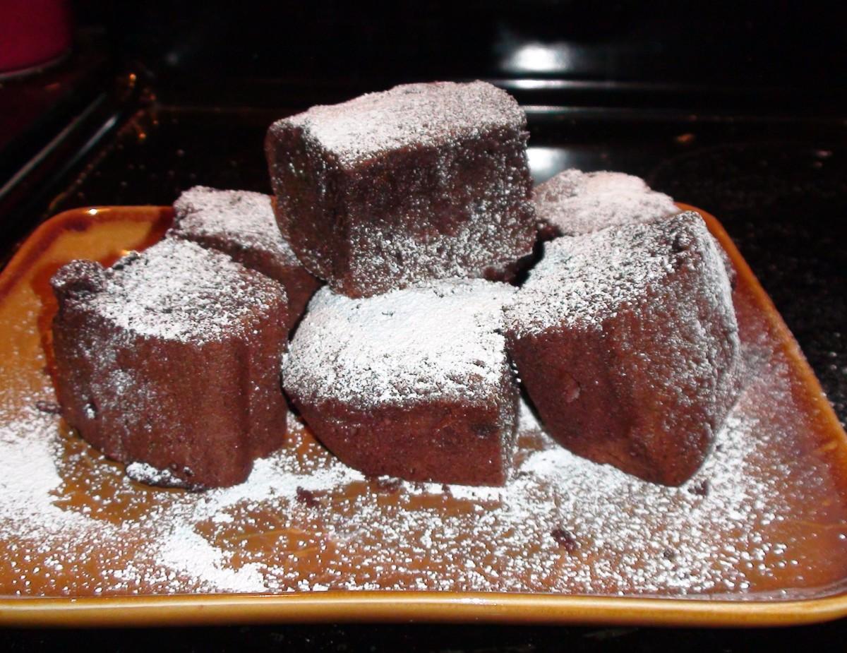 Organic Chocolate Brownies Using Agave Nectar and Real Chocolate