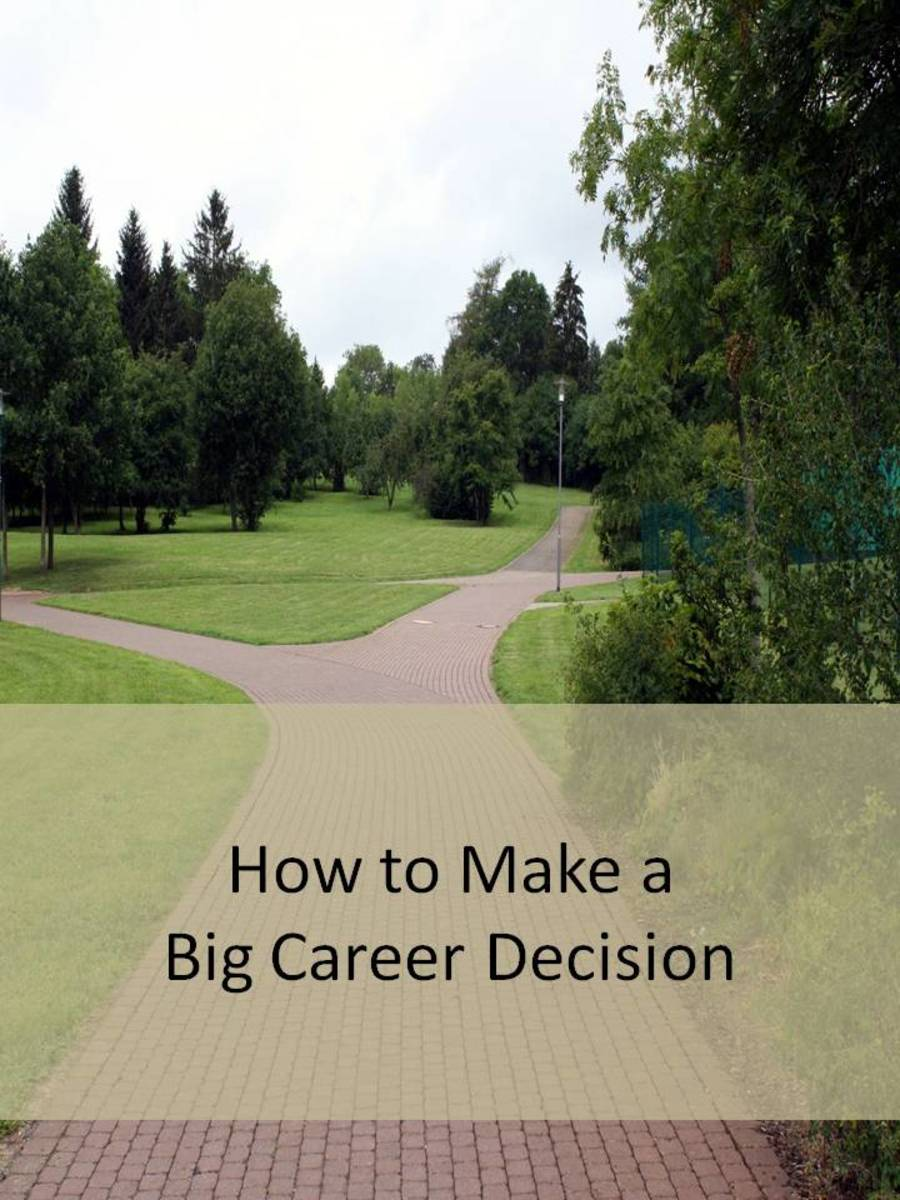Which path will you choose? Stay at your job, or quit and find a new one?