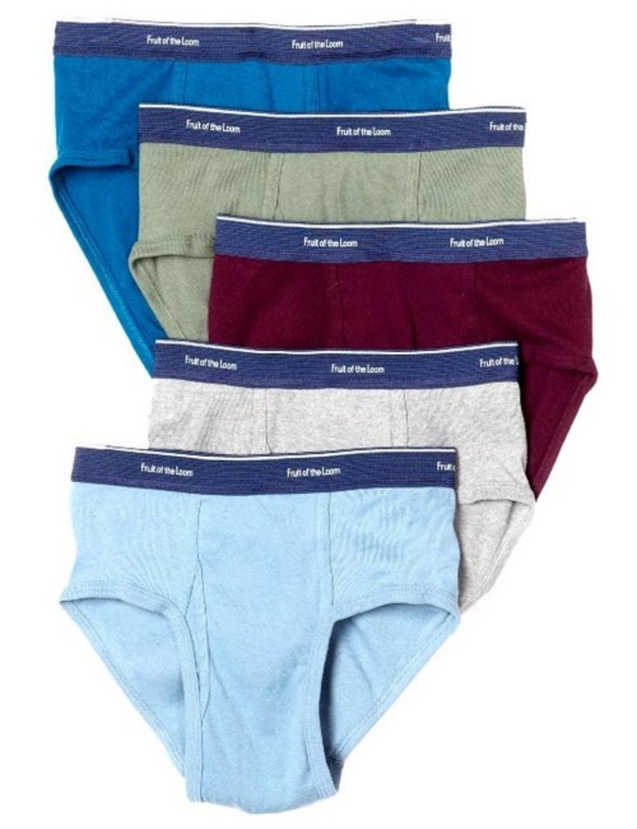 Fruit of the Loom men's low rise fashion briefs