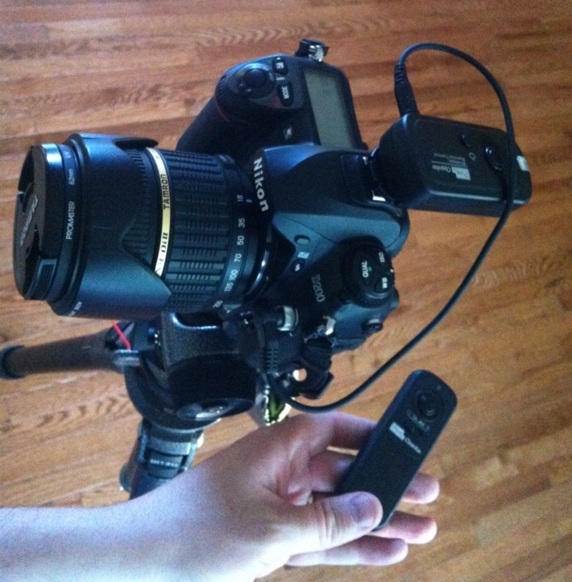 Review of the Pixel Oppilas Wireless Shutter Remote Control RW-221 for Nikon Cameras