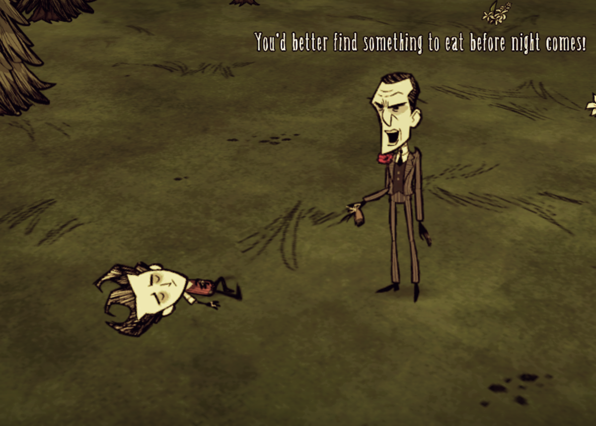 """Don't Starve"" is copyright Klei Entertainment Inc. Images used for educational purposes only."