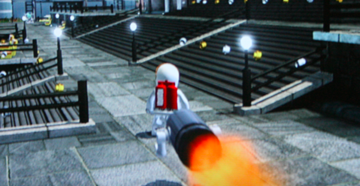 LEGO City Undercover Walkthrough: Kings Court Collectibles