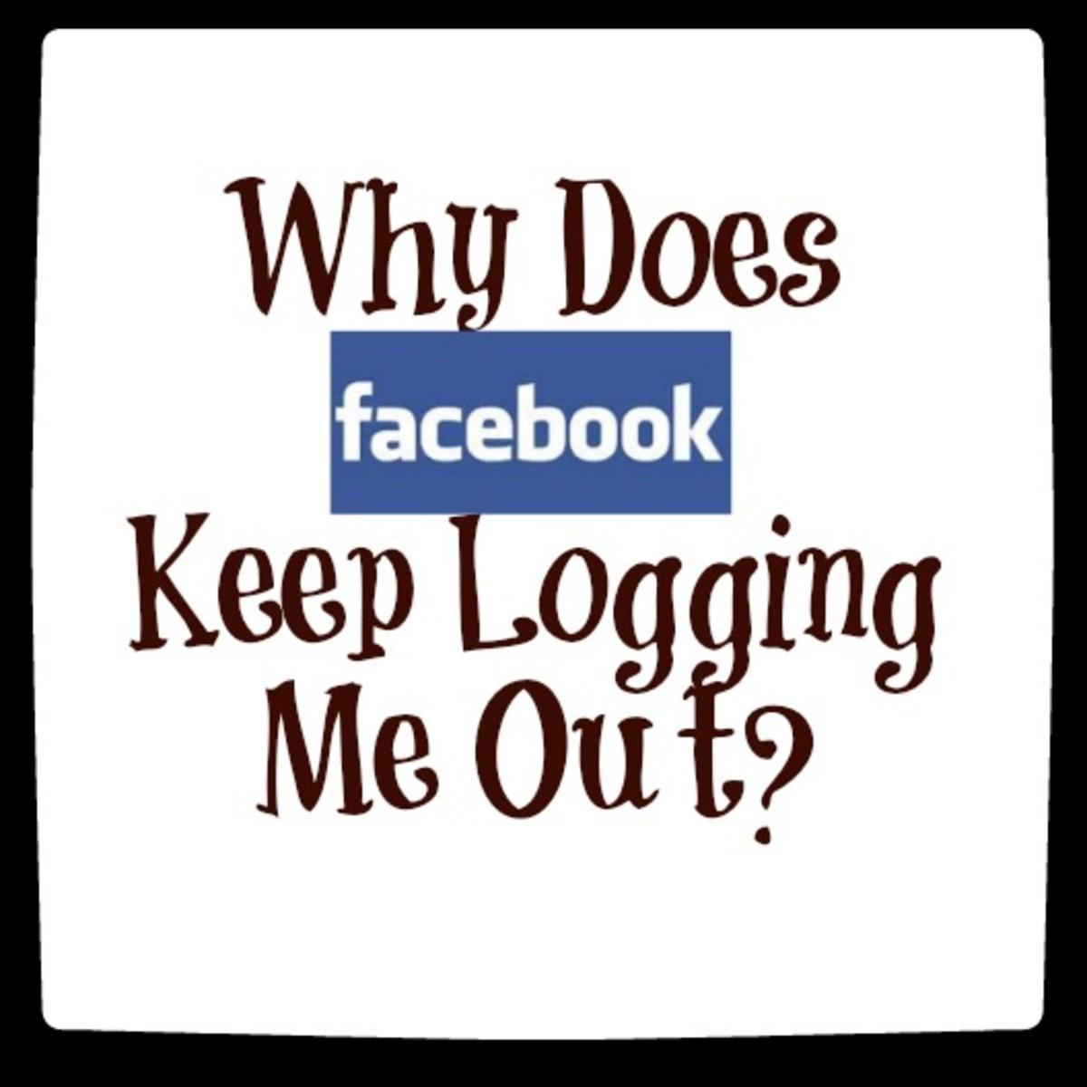 Facebook logging me out
