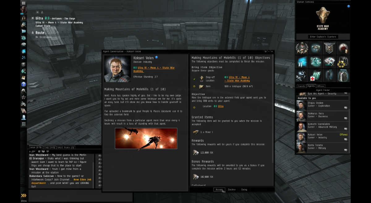 """""""EVE Online"""" Industrial Arc Guide: Making Mountains of Molehills (1 & 2)"""