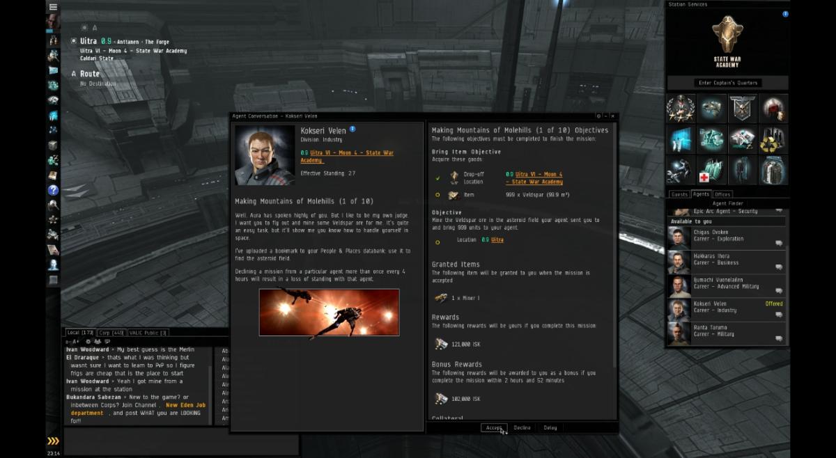 Eve online data usage
