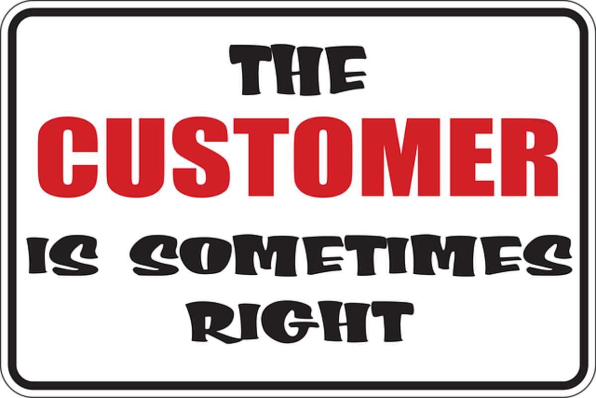 Preparing for a customer service job is tough, especially when the customer thinks they are always right.
