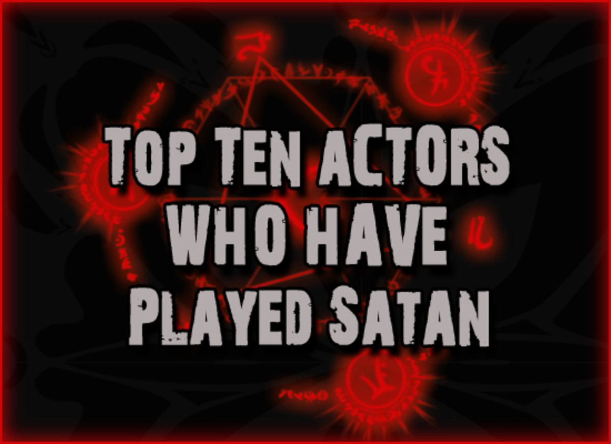 Top Ten Actors Who Have Played Satan