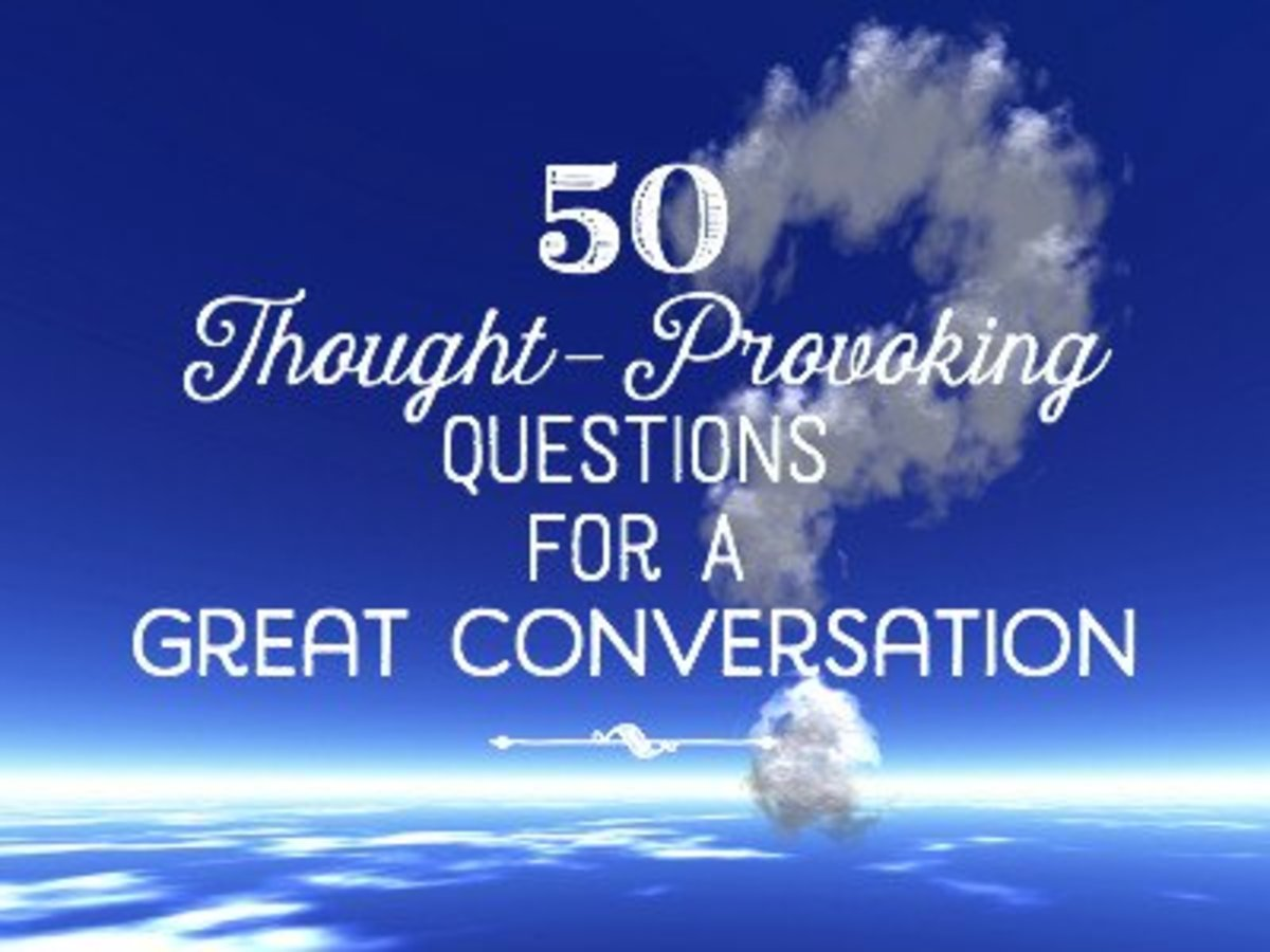 50 Deep and Thought-Provoking Questions.