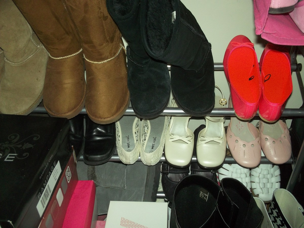 How to Organize Too Many Pairs of Shoes