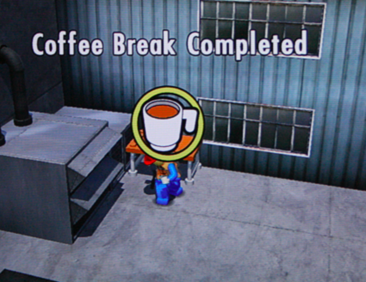 LEGO City Undercover walkthrough: Coffee Break Locations
