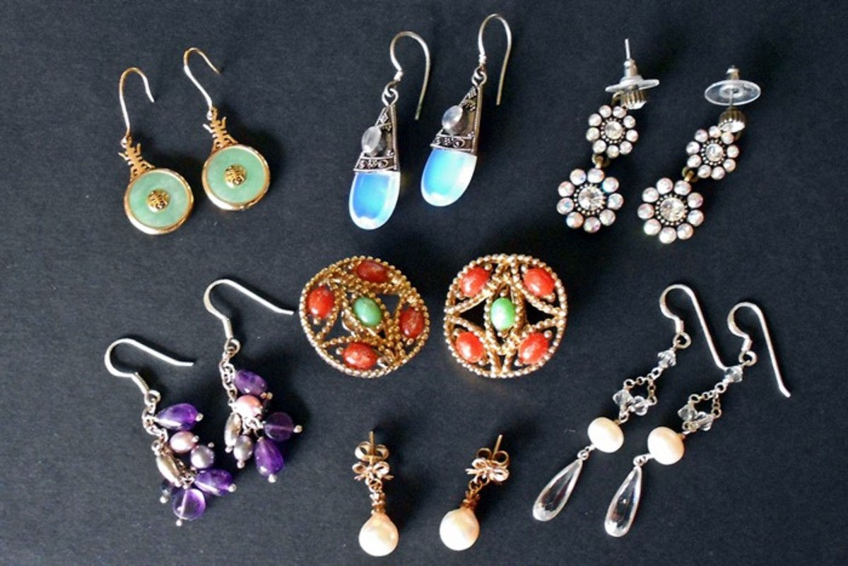 "There is no ""one size fits all"" answer to how to clean earrings so check out our tips and guide to cleaning costume and fine jewelry, with and without gemstones"