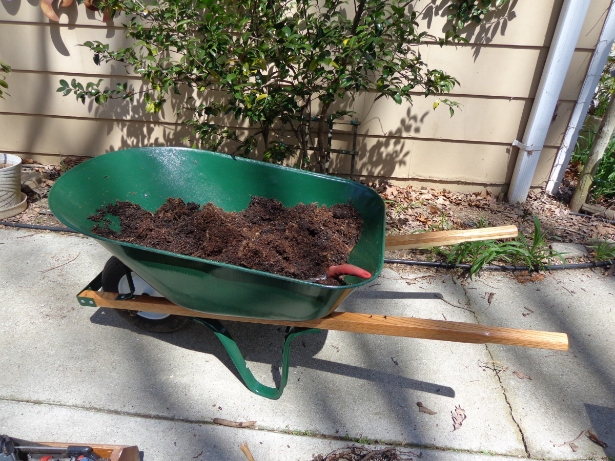 How (not) to repair your wheelbarrow