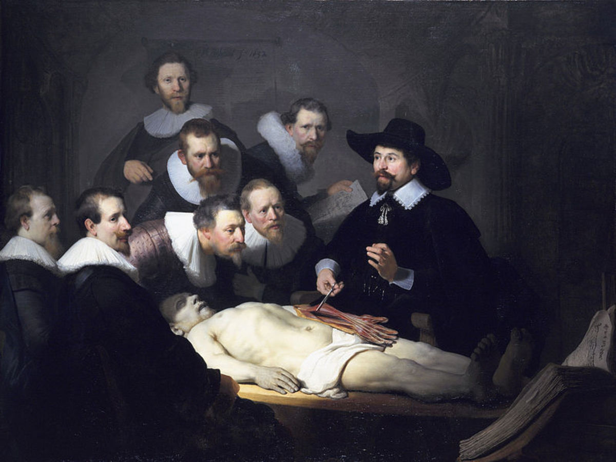 As this painting from 1632 notes, autopsies have been going on for hundreds of years.