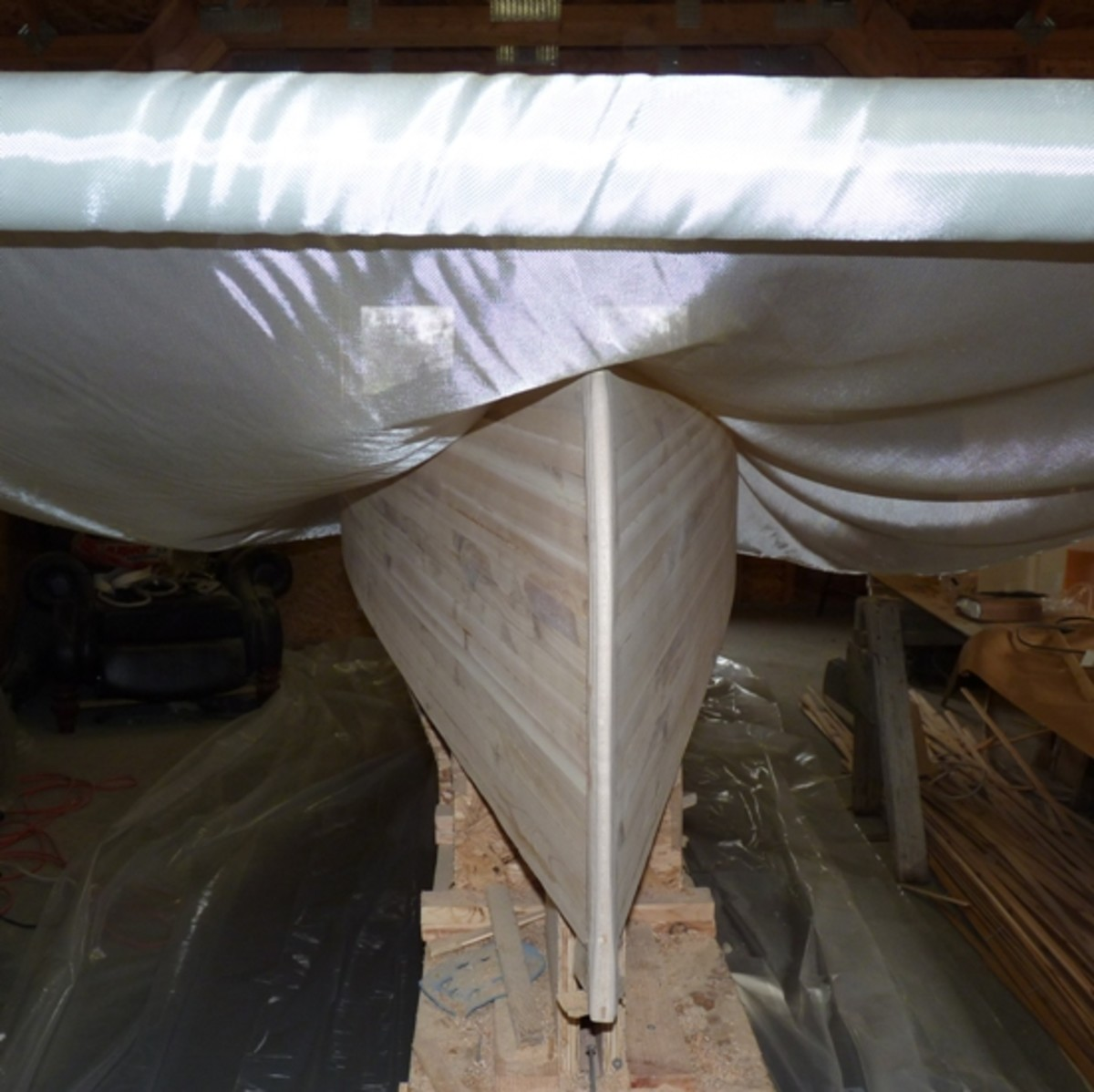 Building a Cedar-Strip Canoe: Estimating the Cost of Epoxy and Fiberglass
