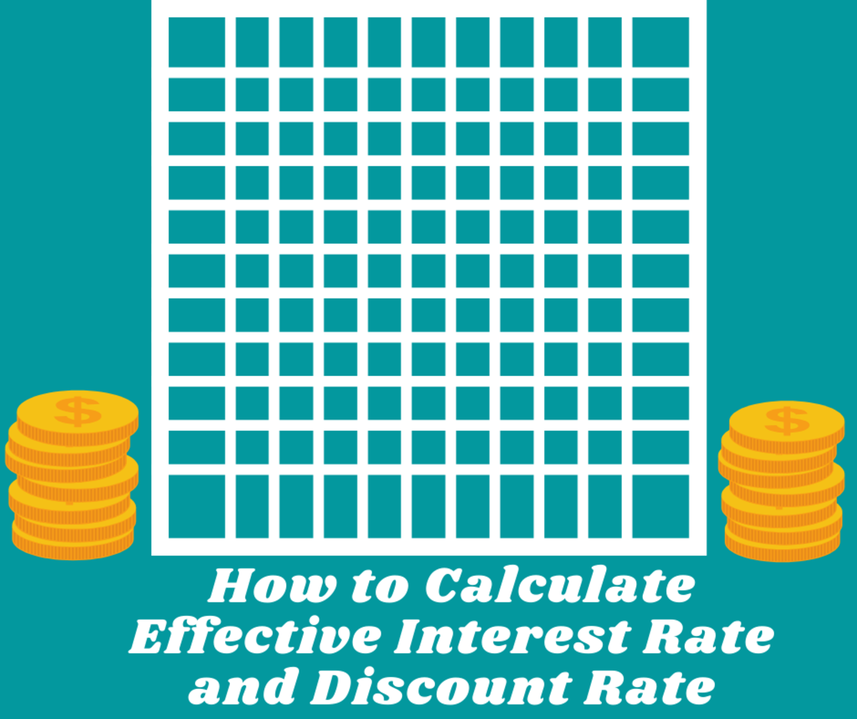 Read on to learn the process for how to calculate effective interest rate and discount rate using Excel.