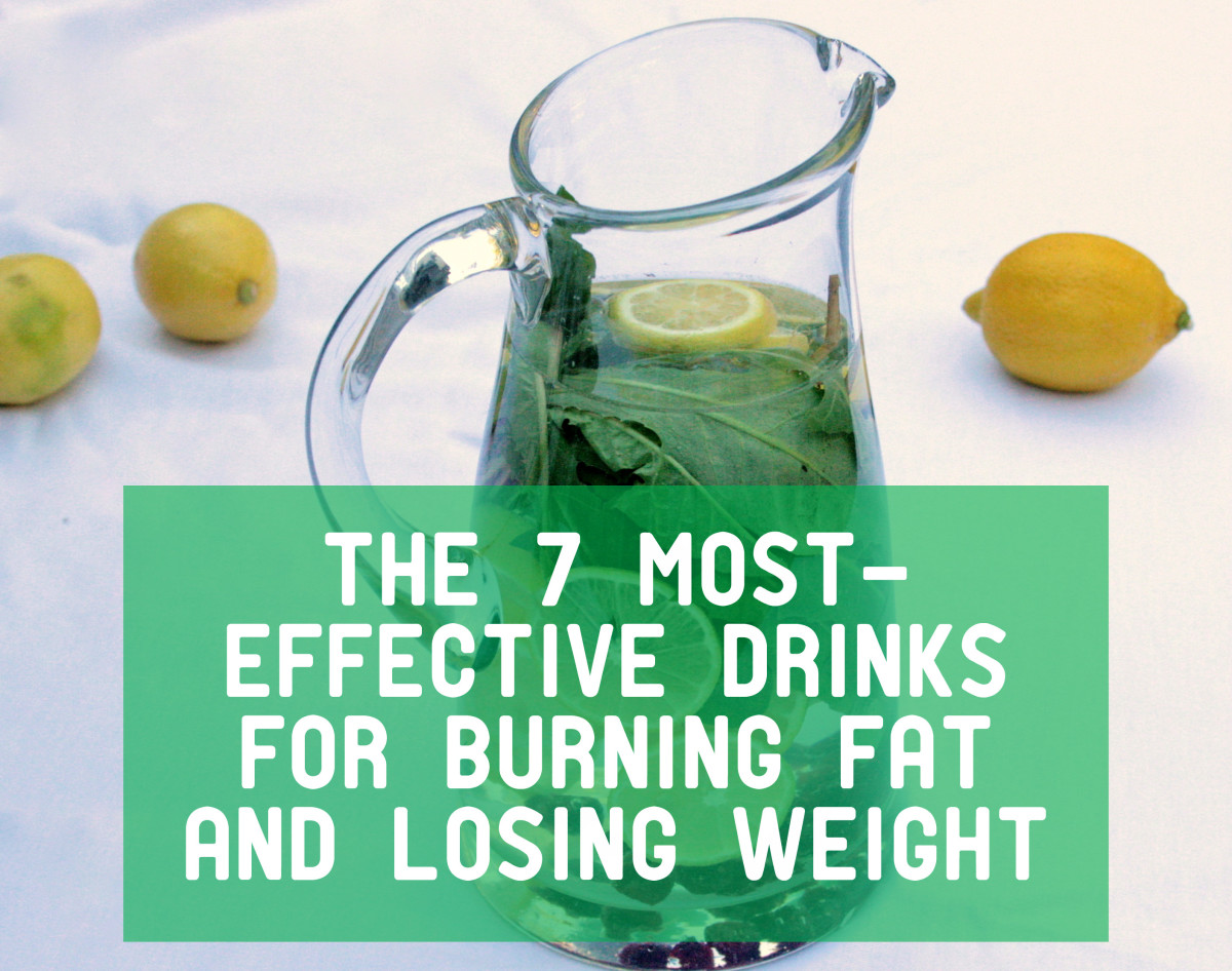 The 7 Most-Effective Drinks for Burning Fat and Losing Weight