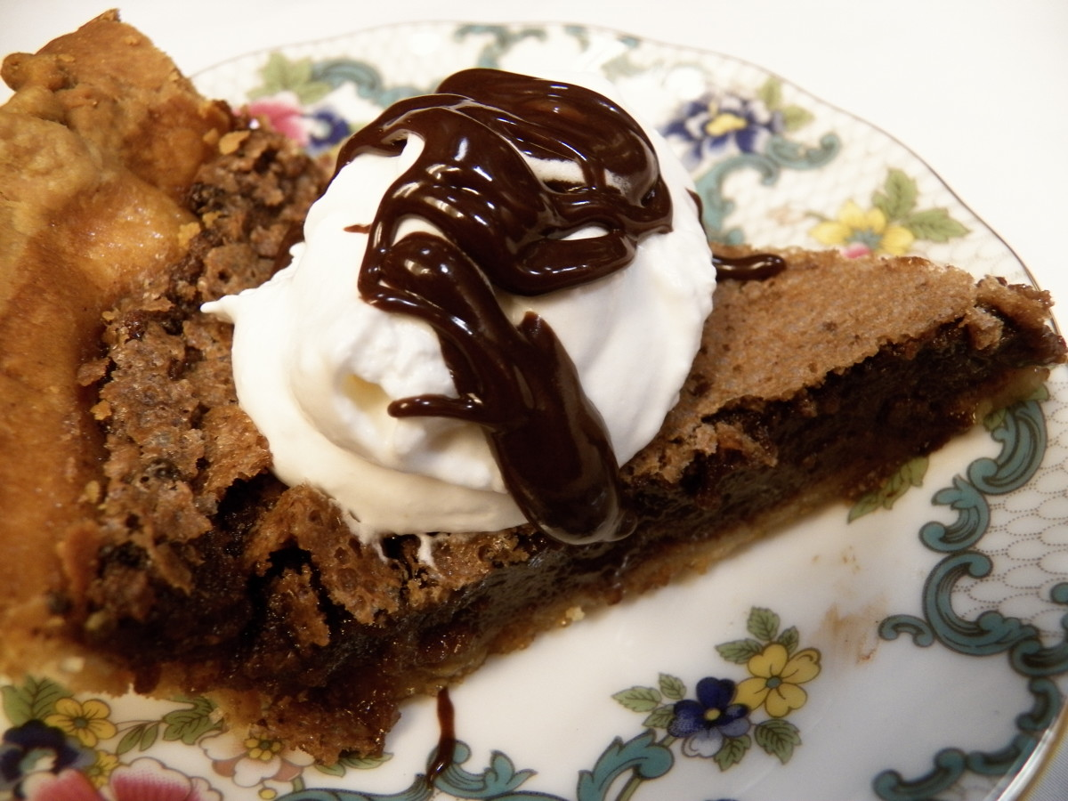 Quick and Easy Chocolate Chess Pie