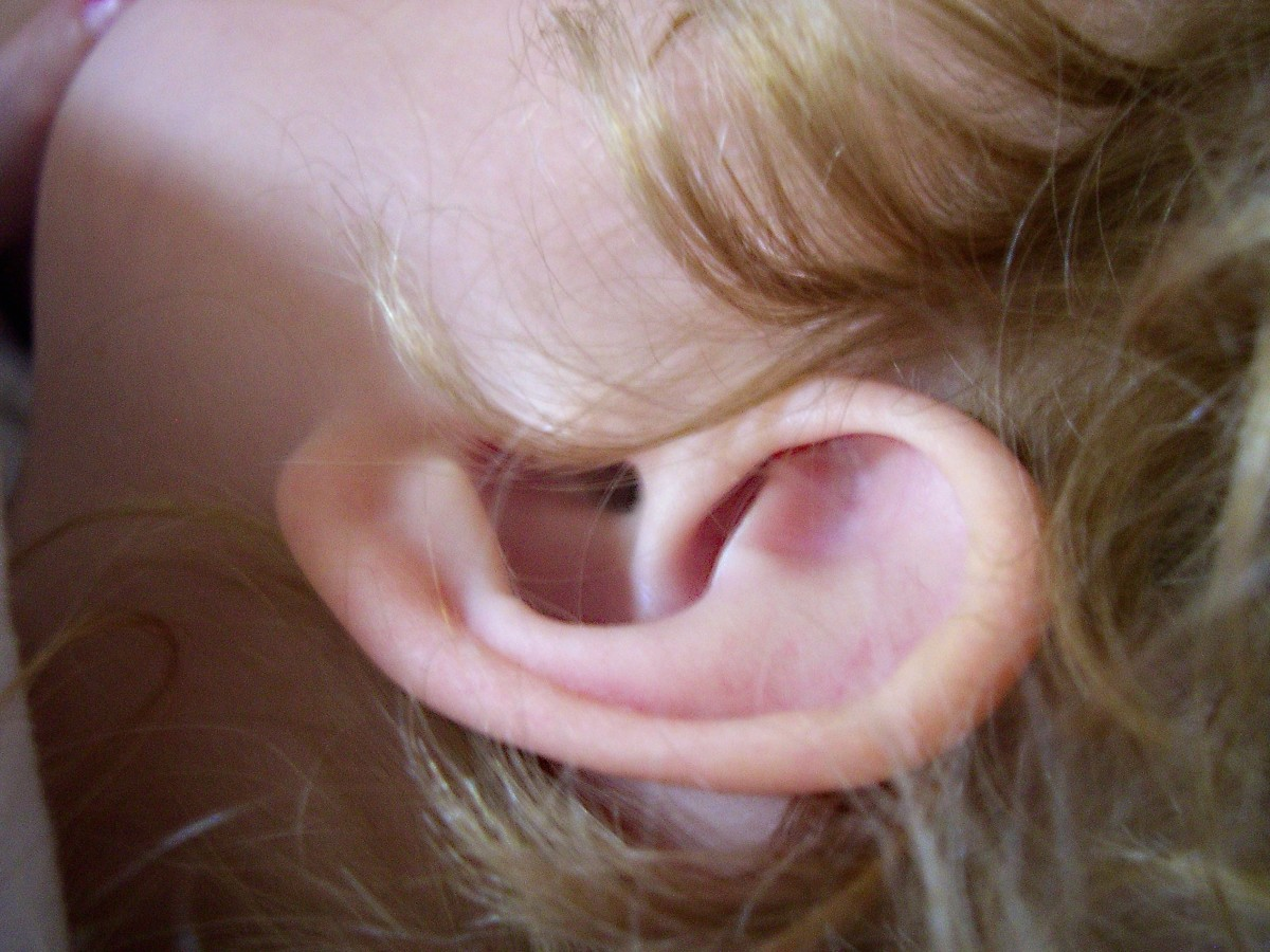 Researchers have made ears with the help of a 3D printer.