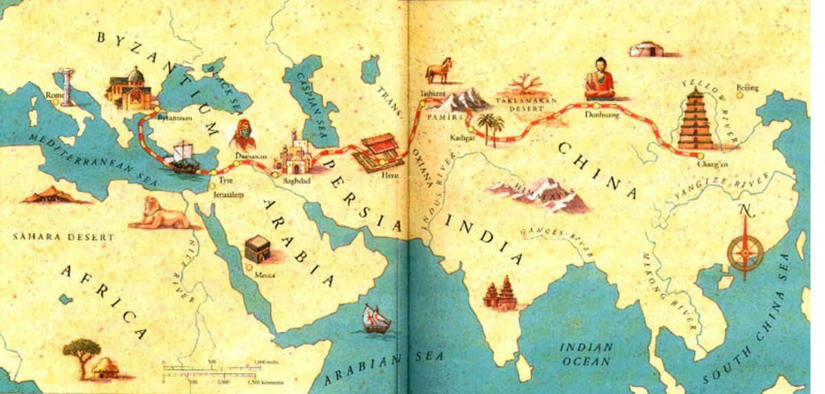 Changes and Continuities on the Silk Road | Owlcation