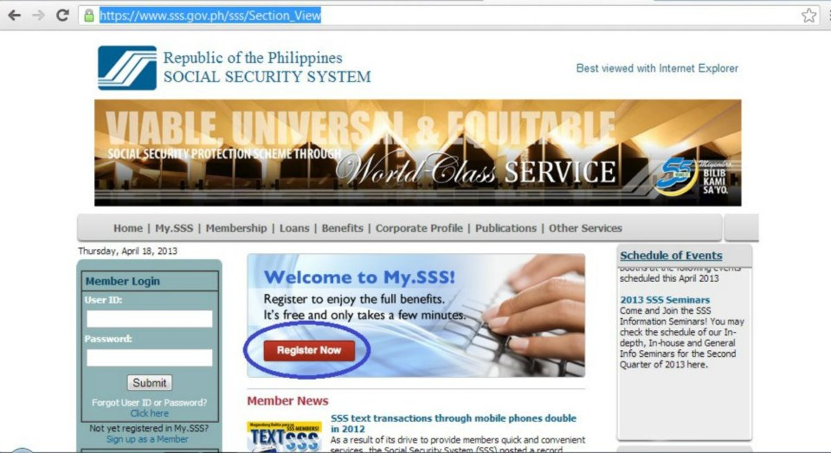 SSS Salary Loan Online Application: Five Easy Steps