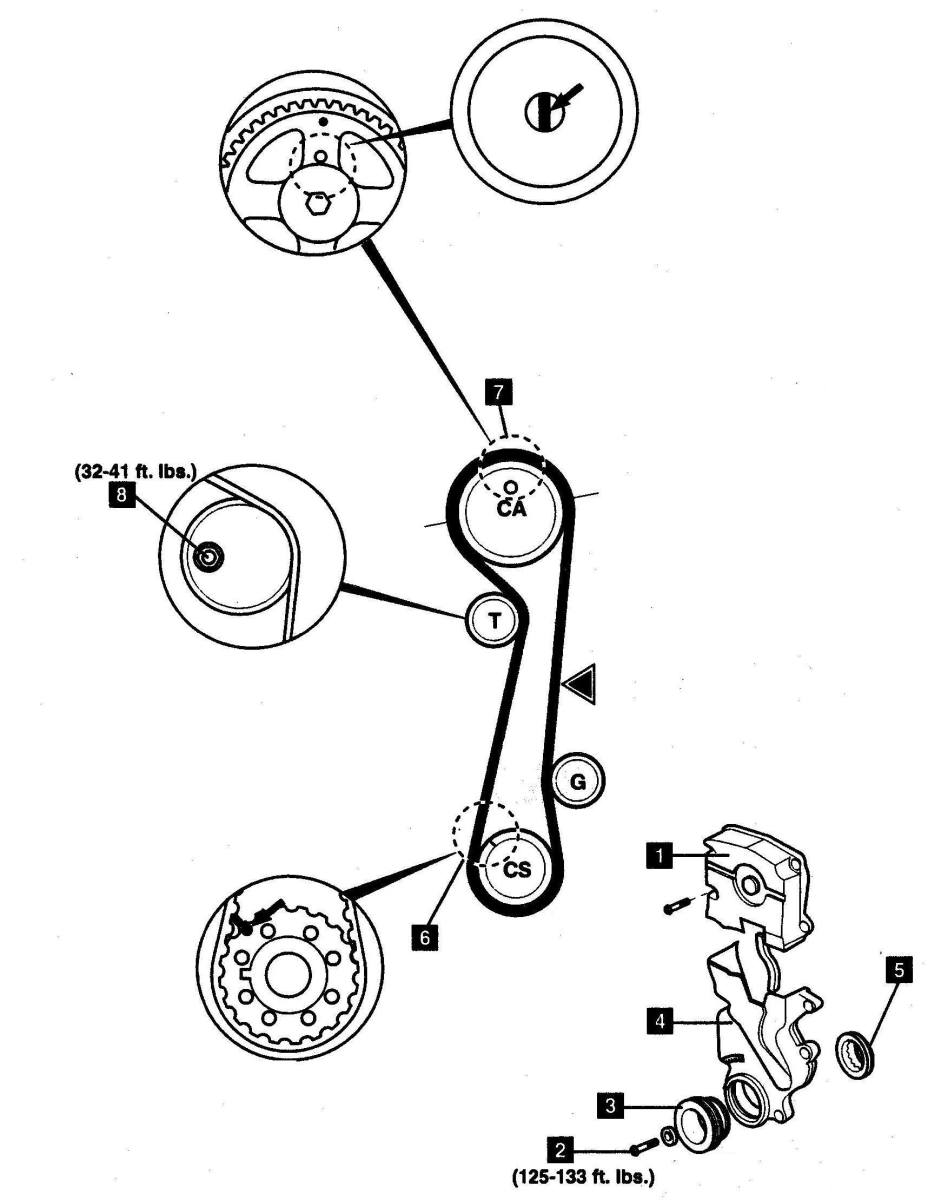 DIY Hyundai Elantra Kia Spectra Timing Belt Replacement on 2008 kia spectra belt diagram