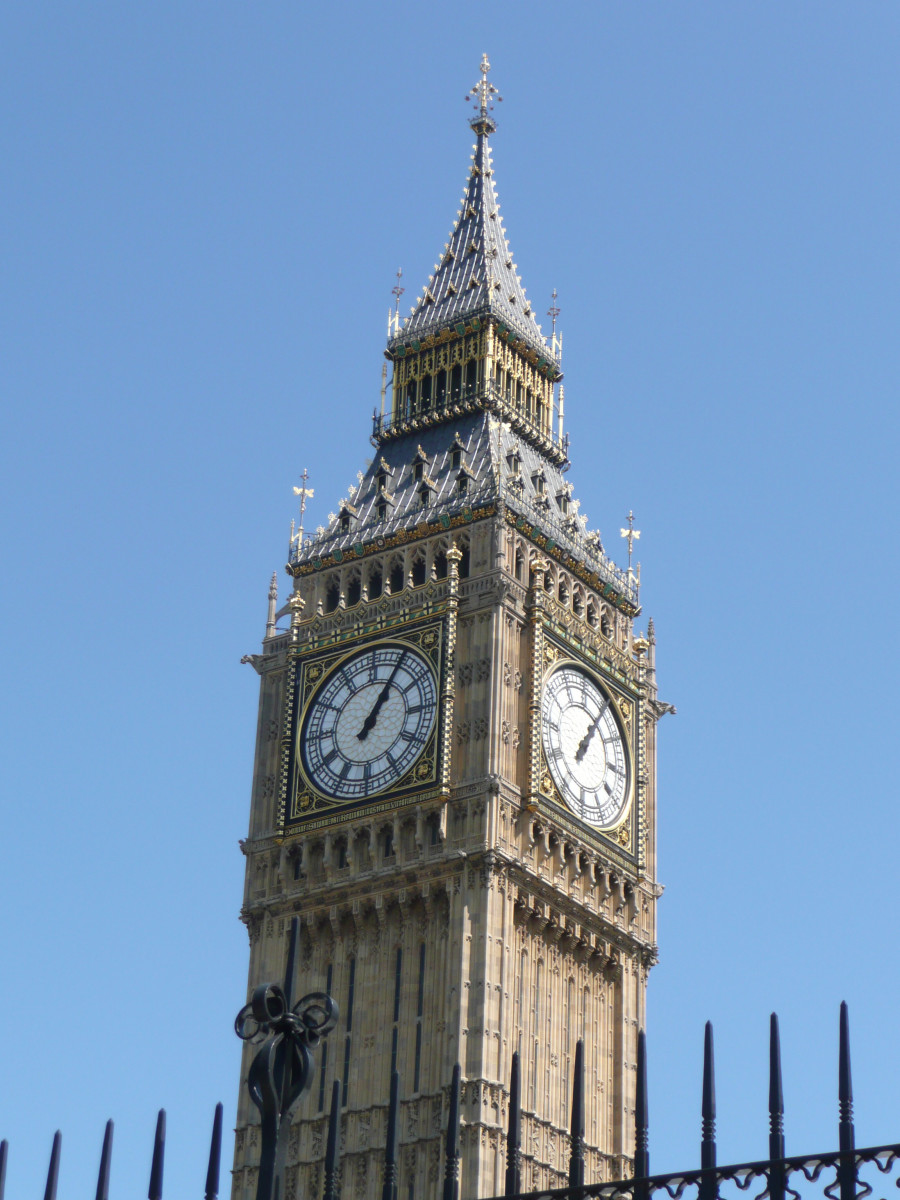 Big Ben, telling Londoners the time since 1859.