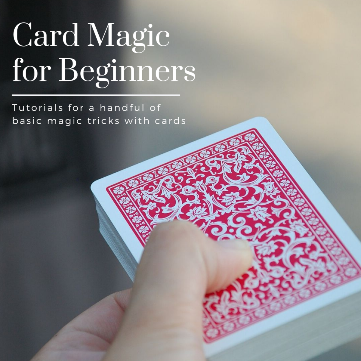 Check out these tutorials for some basic card magic tricks.