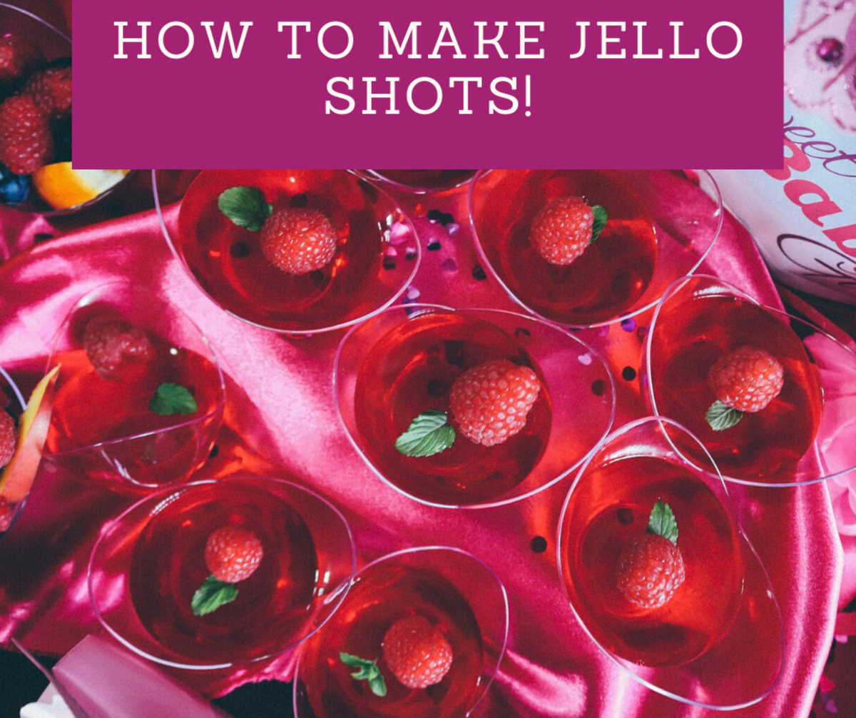 Get the party started with these tasty jello shots!