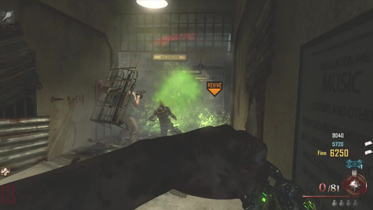 Call Of Duty Black Ops 2 Zombies How To Build The Acid