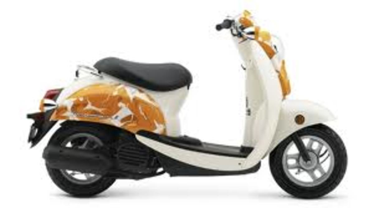 Paint your scooter any color you want.