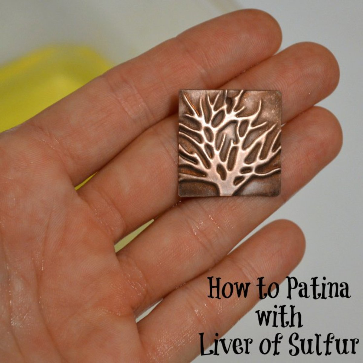 How to Patina with Liver of Sulfur