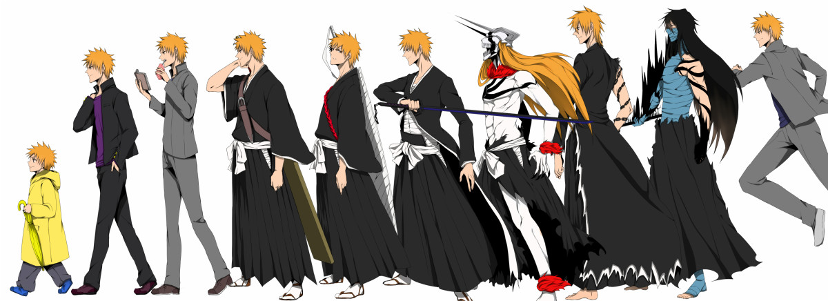 Different Forms of Ichigo | ReelRundown  Different Forms...