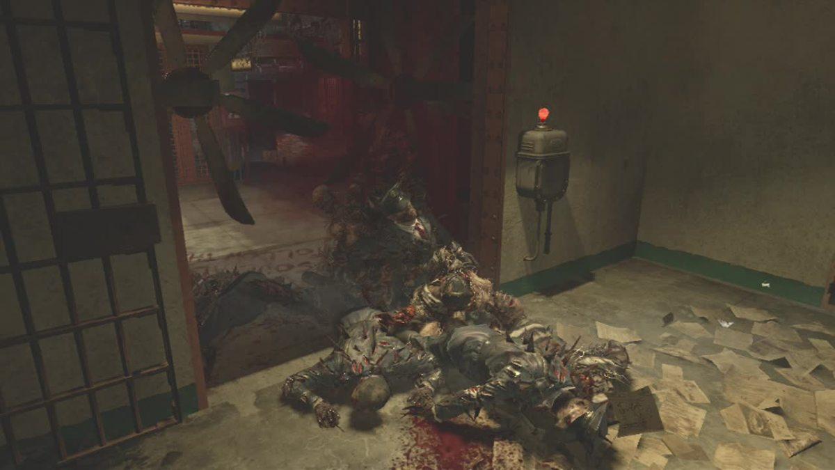 Traps in Alcatraz, Mob of the Dead in