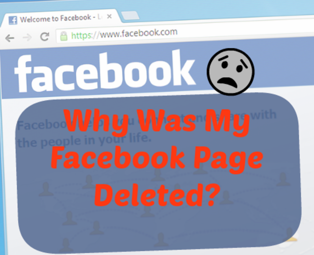 Why Was My Facebook Page Deleted?