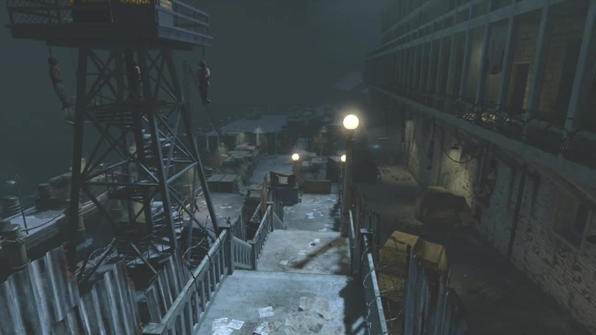 The Docks in Alcatraz, Mob of The Dead - Call of Duty: Black Ops 2, Zombies