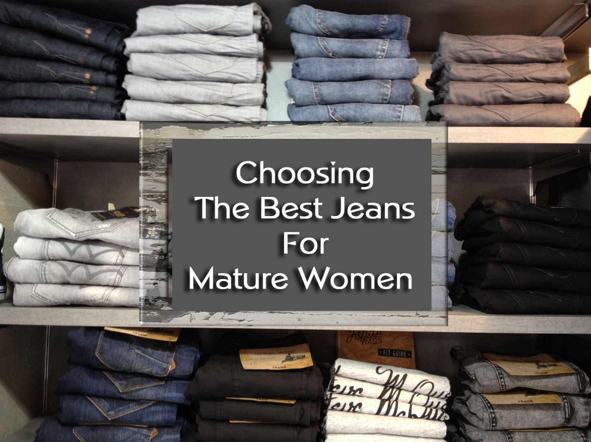 Best Jeans for  Mature Women