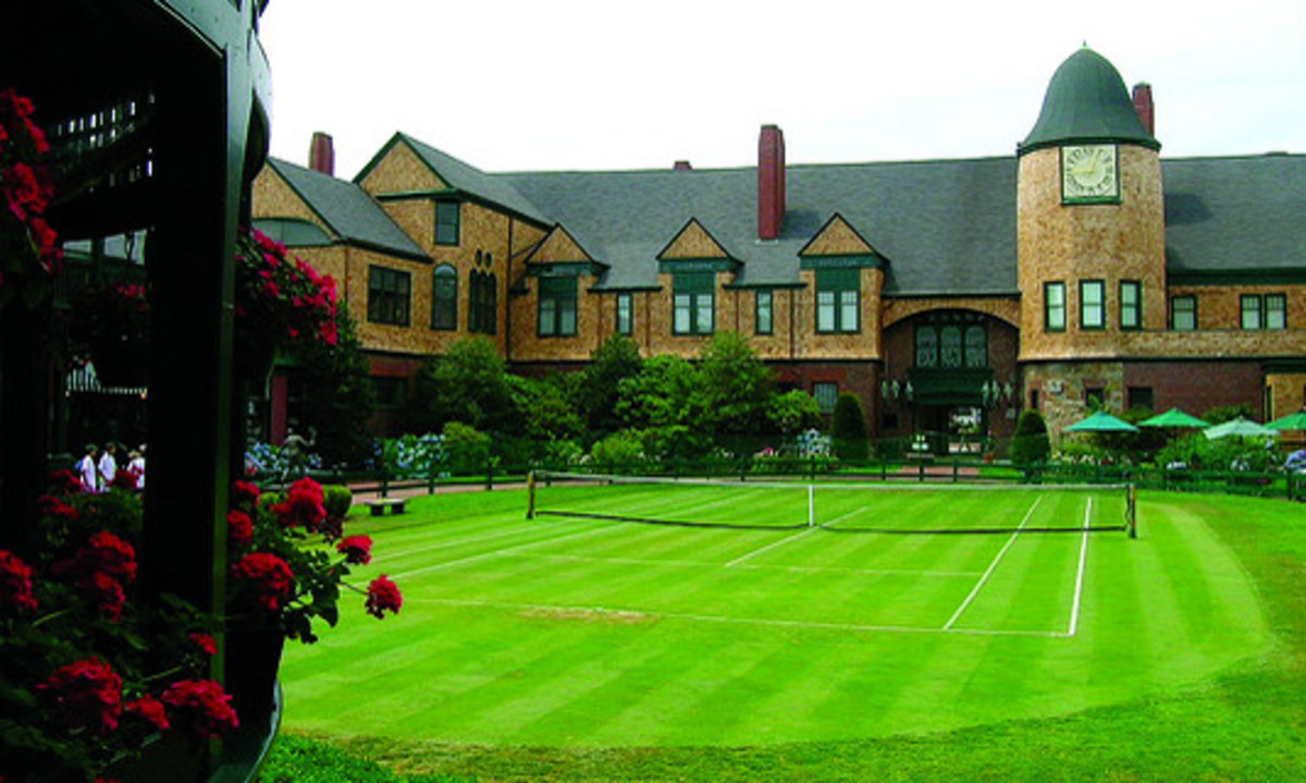 The International Tennis Hall of Fame and Museum.
