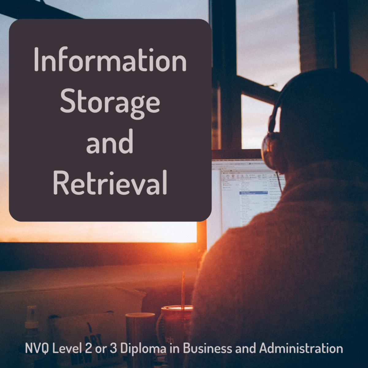 Learn about the purpose and procedures related to information storage and retrieval in business administration.