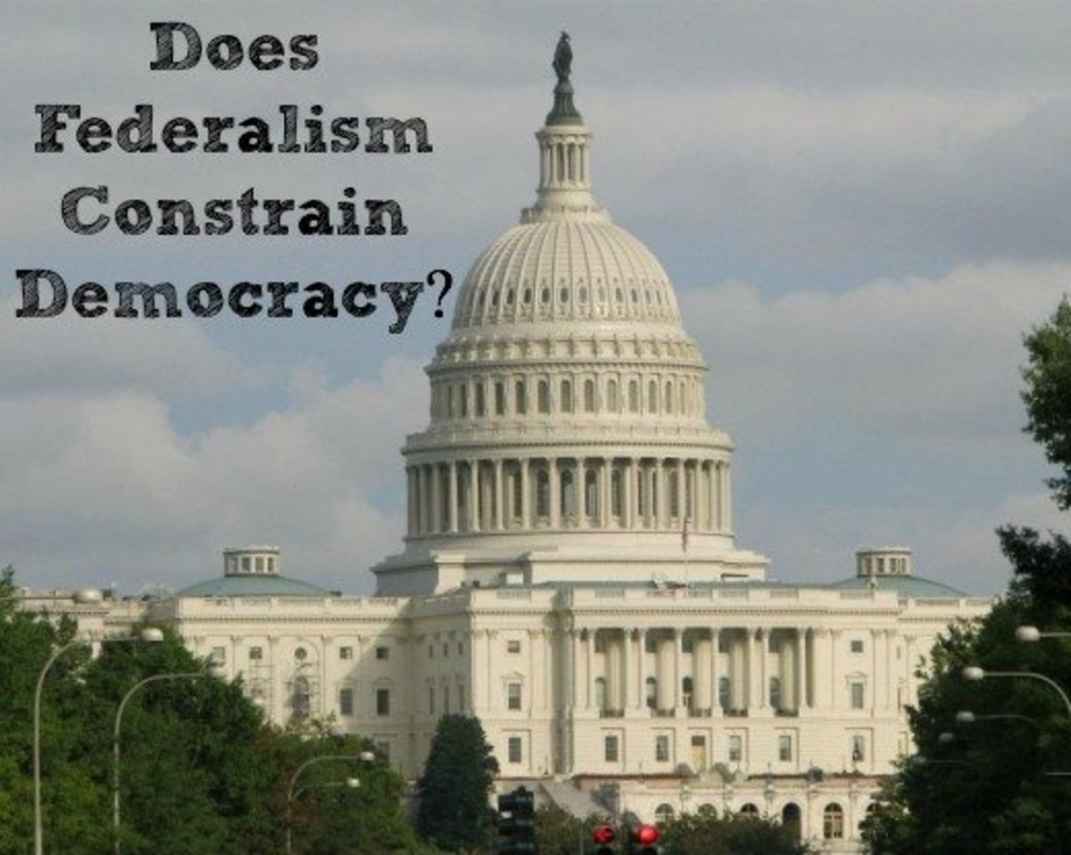 the issue of democracy in the united states Federalism is the sharing of power between national and state governments in america, the states existed first, and they struggled to create a national government.